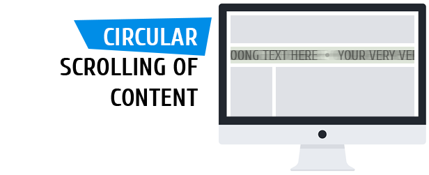 liMarqueeWP – horizontal and vertical scrolling of text and image